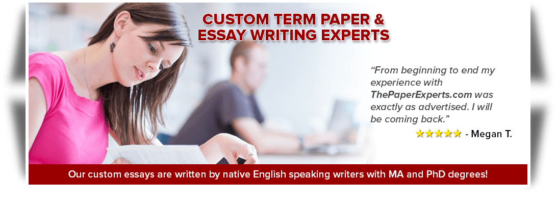 order custom term paper Whether you wish to order an essay or request a simple editing - our custom paper writing services can do that all and more let our customer support know what paper type you need to get done and we will guide you through our order placement process.