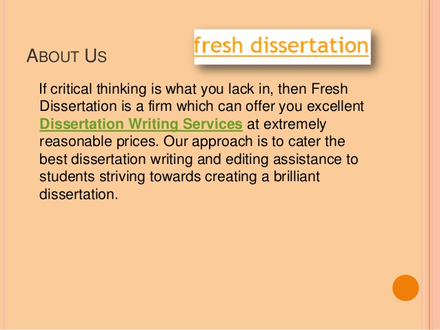 Dissertation proposal special education