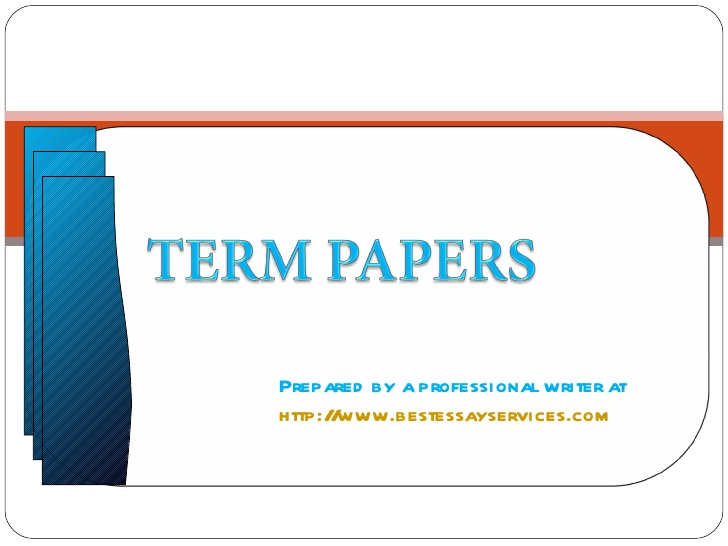 for a termpaper Title page is required for every term paper no matter what subject it is aimed for follow the guidelines to write a perfect title paper for your paper.