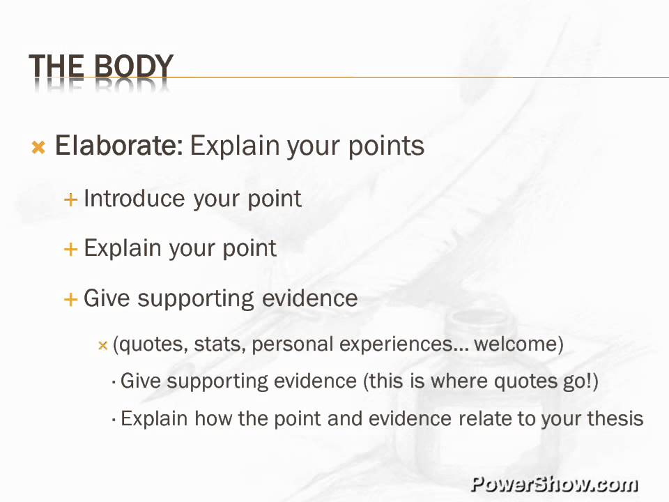 parts of introduction of an essay An argumentative essay states the thesis in the introduction, substantiates the thesis in the body, and provides a resolution for the reader in the conclusion this distinct structure presents ideas in a logical and convincing manner  writing an argumentative essay.