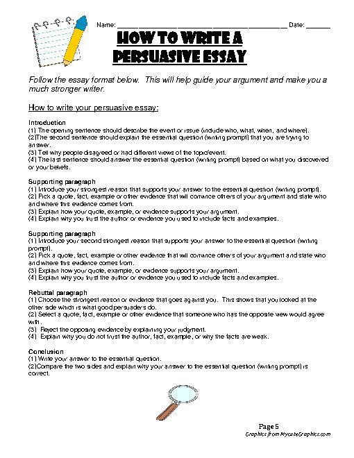 persuasive writing topics for high school Good essay topics and ideas at least one time in life each of us had to start writing essays this could be a task in high school, ged, gre, an essay that was attached to the university application, or other works which should have been written during long years of study.