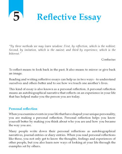reflection on lessons learned during course essay High school those two words can nostalgically bring out the best and the most tragic memories in anyone's life for me, i can say that those years were anything but ordinary, at times they were terrifying, at times they were incredible, at times they were chaotic, but they were always beautiful.